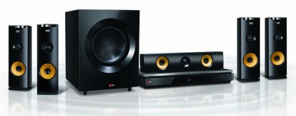 LG BH9230BW 91 Ch Bluray Home Theater System with Wireless Rear