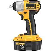 DeWalt DC820KBQW 18V Impact Wrench Kit 220 Volts