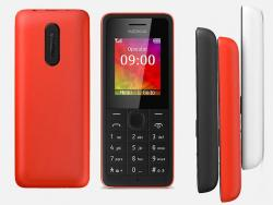 Nokia 106 2G Unlocked Phone Red