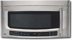 LG LMVM2075ST 2.0 cu. ft. Over The Range Microwave, Sensor Cook, 300 CFM Vent, Stainless Steel FACTORY REFURBISHED (ONLY FOR USA)