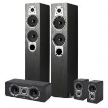 JAMO S426HCS3B Home Cinema Systems (BLACK) (OPEN BOX) 110 VOLTS ONLY USE IN USA