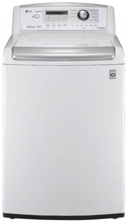 Lg Wt4901cw 4 7 Cu Ft Top Load Washer W Waveforce Coldwash Factory Refurbished Only For Usa