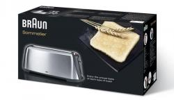 Braun HT600 Sommelier Stainless Steel Toaster, 220-volts (NOT FOR U.S.A or CANADA)