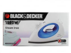 Black & Decker X700 1960W Steam Iron with Non-Stick Coating, 220 to 240-volt