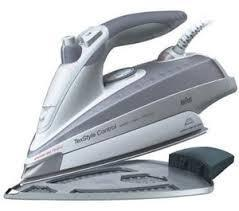 Braun Iron SI770 Txstyle Control Iron,TEXTILE PROTECTOR PLUS 220 Volts- This product will NOT Work Here in USA and Canada