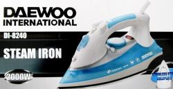 Daewoo DI8240 Steam/Dry Iron with Stainless Steel Soleplate, 220 to 240-volt