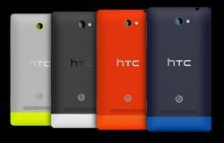 HTC Windows Phone 8S 3G HSDPA Unlocked Phone SIM Free  BLACK & GREY