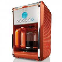 Bella 13948 Dots 12-Cup Coffee Maker 110 volt Orange (Only for USA)