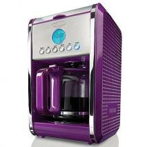 Bella 13948 Dots 12-Cup Coffee Maker 110 volt Purple (Only for USA)