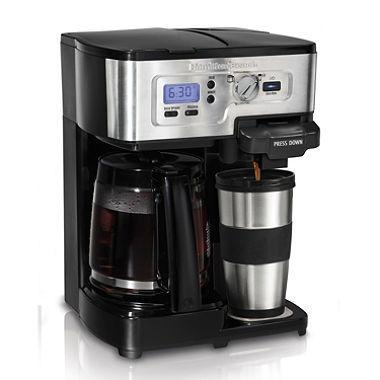 Hamilton 49983S Beach 2-Way FlexBrew Coffeemaker 110 volt (Only For USA)