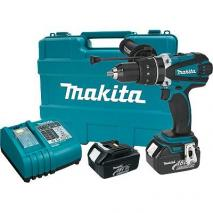 Makita LXPH03 18V LXT Li-Ion Hammer Driver-Drill Kit 220 volts