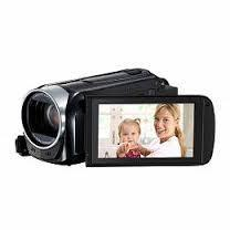 Canon 8GB Legria HFR46 Full HD Camcorder with WiFi (PAL, Black)  NOT USE IN USA