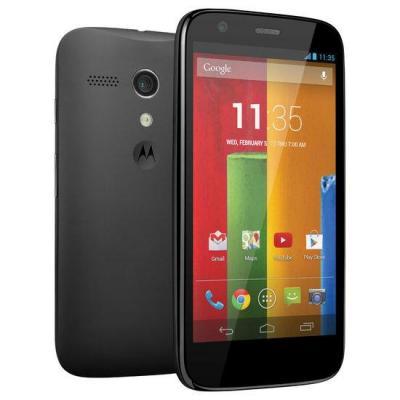 MOTOROLA MOTO G XT1033 3G DUAL SIM UNLOCKED PHONE 16GB BLACK (SIM FREE)