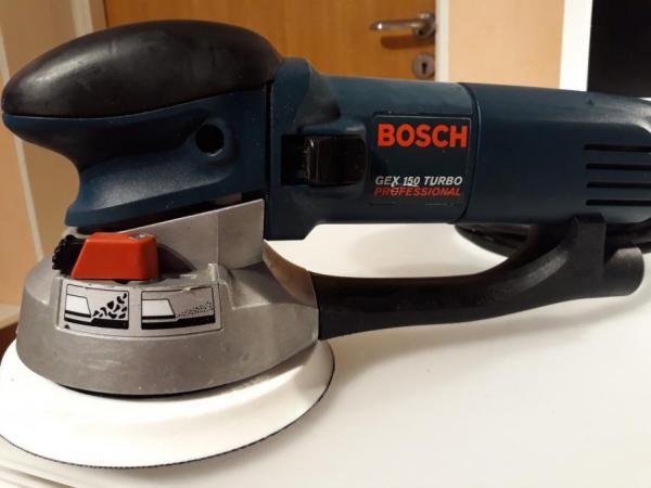 bosch gex150 turbo 6 inch random orbit sander 220v 220. Black Bedroom Furniture Sets. Home Design Ideas