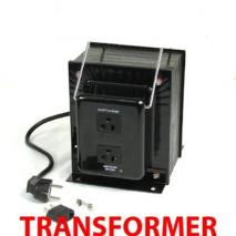 TC-4000A 4000 Watts Step Down Transformer-CE approved and certified.