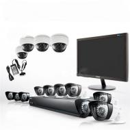 Samsung  SDS-P5122N 16ch 960H Security Camera System 110-220 volts