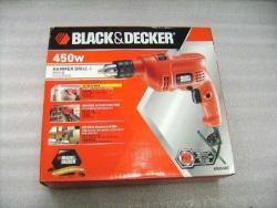 Black & Decker KR454RE Percussion Hammer Drill 220 Volts