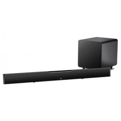 Polk SURBAR9000IHT Audio SurroundBar 9000 IHT Speaker System - 150 W RMS - Wireless Speaker(s) - Black - 40 Hz - 22 kHz - 50 ft - Dolby Digital, DTS (OPEN BOX)