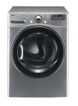 LG DLGX3471V 7.3 cu. ft. Steam Gas Dryer 12 Drying Programs 5 Temperature Levels SteamFresh, Graphite Steel FACTORY REFURBISHED (ONLY FOR USA )