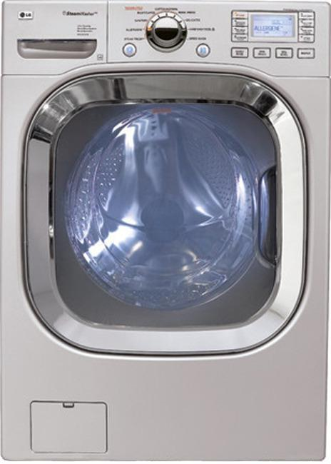 Lg Wm3001hpa 4 5 Cu Ft Front Load Washer 9 Wash Cycles Lcd Controls Steamfresh Steamwash Allergen Cycle Pure S Refurbished For Usa