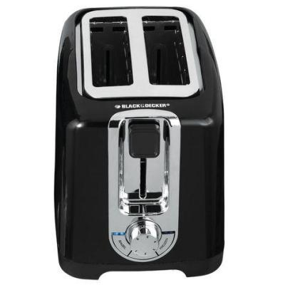 Black & Decker TR1256B 2-Slice Toaster 220 Volts