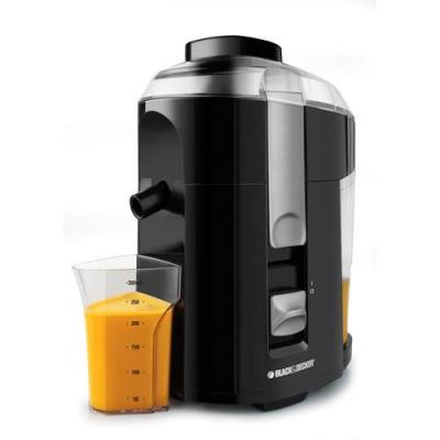Black & Decker JE2200 Fruit and Vegetable Juice Extractor with Custom Juice Cup 220 volts