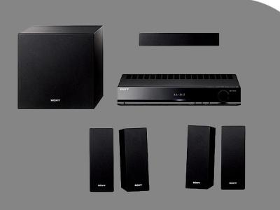 SONY HTS-S380 3D REGION FREE HOME THEATER SYSTEM INCLUDES