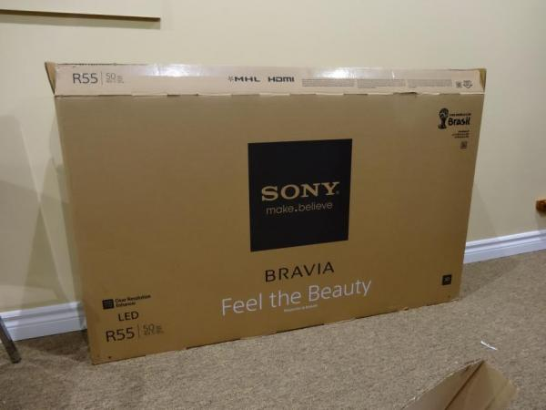 sony tv 50 inch. sony kdl-50r550 50 inch multisystem smart 3d led tv pal ntsc secam 110 220 240 volts sony tv inch