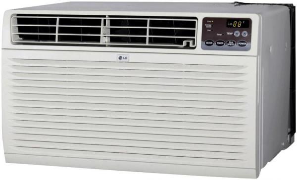 Lg lt081cnr 8000 btu thru the wall air conditioner with for 110 volt window ac units