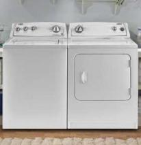 Whirlpool WTW4740YQ10.5 KG Super Capacity Washer and WED4800DYQ Dryer Set 220-240 Volts 50 Hertz