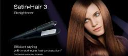 Braun ES1 Ceramic Flat Iron Hair Straightener 220V