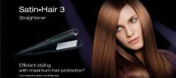 Braun ES1 Ceramic Flat Iron Hair Straightener 220V