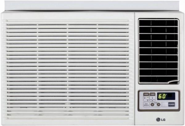 lg lw7013hr 7 000 btu window air conditioner with heating option and remote factory refurb. Black Bedroom Furniture Sets. Home Design Ideas