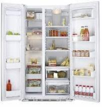 GE GCE23LBYFSS SIDE BY SIDE REFRIGERATOR WITH FREEZER 60CM COUNTER DEPTH 220 VOLTS