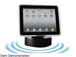 Audiovox IPDHDSS Desktop/kitchen dock and powered speaker system for new Audiovox iPad cases 110 volts