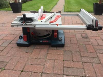 Bosch GTS10XC 10 Inch Table Saw 220 VOLTS