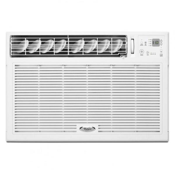 Whirlpool acq128gpw energy star 12 000 btu 115v window for 110 volt window air conditioner