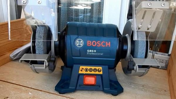 Bosch Gbg6 6 Inch Double Wheeled Bench Grinder 220v 220 Volts Appliances 110 220 Volt