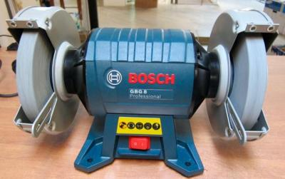 Bosch GBG8 8 Inch Double-wheeled Bench Grinder 220Volts