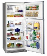 Frigidaire GLTT20V8MW 220 Volts 18.2 cu. ft. White Top Mount Refrigerator 220-240 Volts
