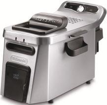 DeLonghi DEF34512CZ Stainless Steel PremiumFry Deep Fryer 220-240 Volt/ 50-60 Hz