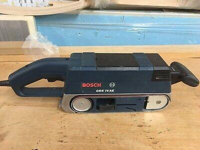 Bosch GBS75AE SET 3 Inch X 21 Inch Belt Sander 220V