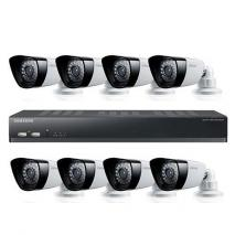 Samsung SDS-P5080N 16ch Security Camera System 110 - 240 VOLTS