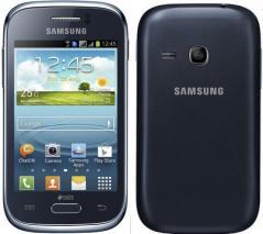 Samsung S6312 Galaxy Young Duos Dual SIM Unlocked Phone (Blue: 4GB)