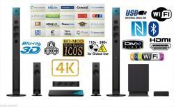 Sony BDV-N8100W 3D Blu-ray Disc Home Theater System Black 110-220 volts