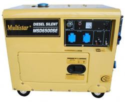 Multistar MSD6500SE Diesel Generator for 220-240 Volt/ 50 Hz