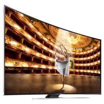 Samsung UA-65HU9000 65 inch Multi System 4K 3D LED SMART CURVED TV with 110-240 Volt 50/60 Hz