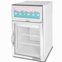 Beverage-Air BACRD5 Refrigerator 1 ph. Commercial Countertop Merchandise Refrigerator 220-240 Volt/ 50 Hz,