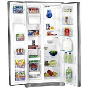 electrolux refrigerator white. white-westing house wspe28v9gs by electrolux refrigerator side-by-side 220-240 volt/ 50/60 hz, electrolux refrigerator white l