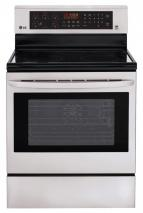 LG LRE3083ST 6.3 cu. ft. Electric Range with Convenction Oven in Stainless Steel FACTORY REFURBISHED FOR USA